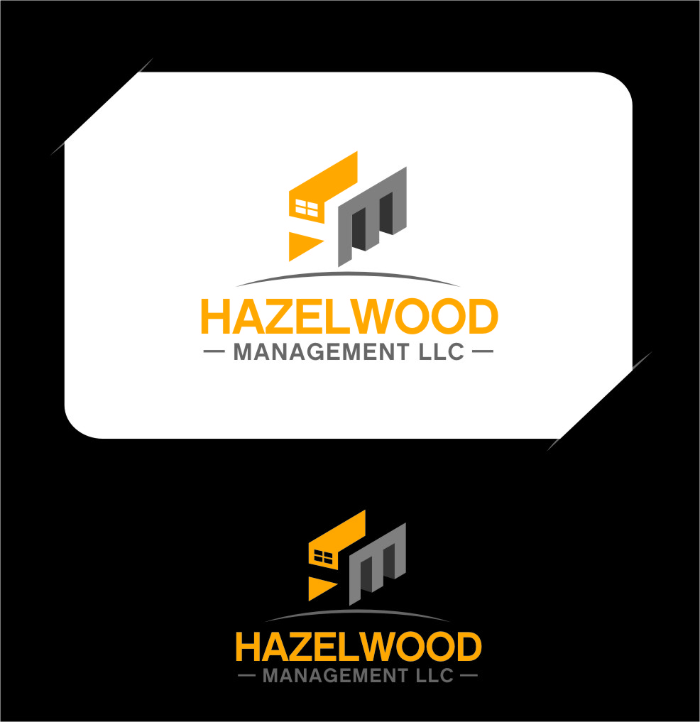 Logo Design by RasYa Muhammad Athaya - Entry No. 130 in the Logo Design Contest Hazelwood Management LLC Logo Design.