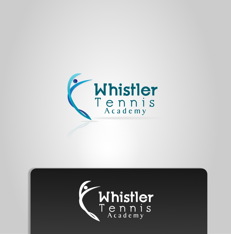 Logo Design by Private User - Entry No. 61 in the Logo Design Contest Imaginative Logo Design for Whistler Tennis Academy.