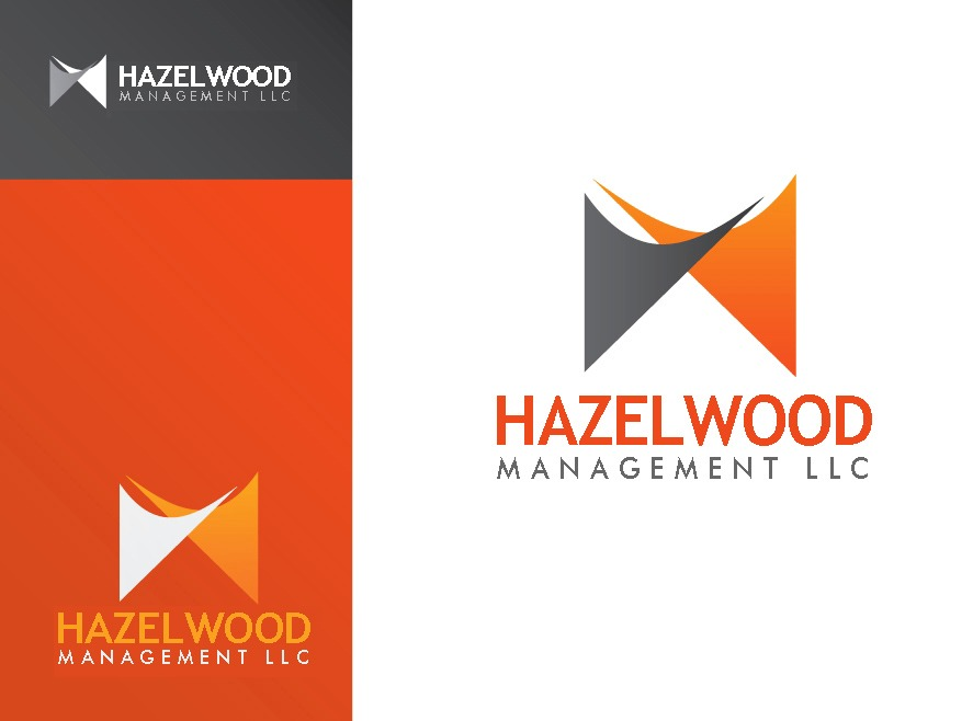 Logo Design by Respati Himawan - Entry No. 136 in the Logo Design Contest Hazelwood Management LLC Logo Design.