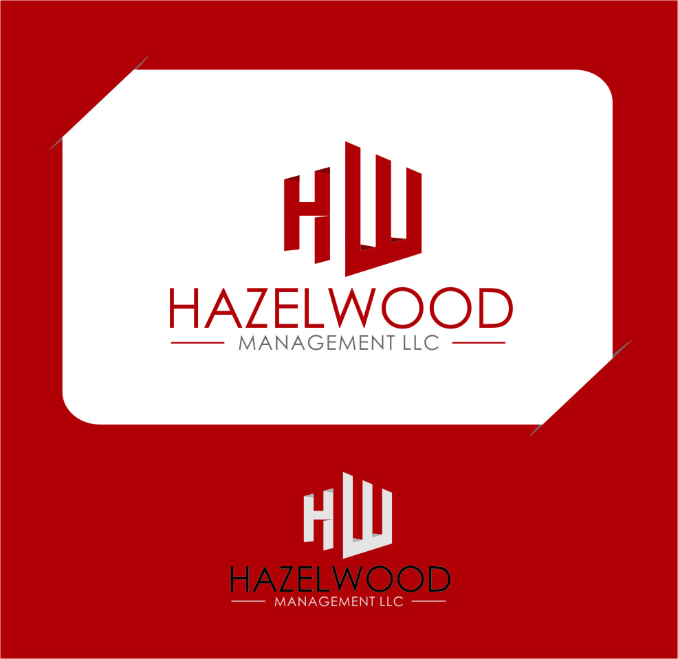 Logo Design by RasYa Muhammad Athaya - Entry No. 138 in the Logo Design Contest Hazelwood Management LLC Logo Design.