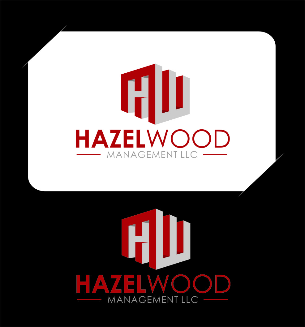 Logo Design by Ngepet_art - Entry No. 142 in the Logo Design Contest Hazelwood Management LLC Logo Design.
