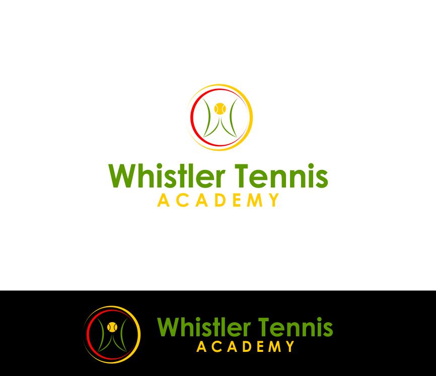 Logo Design by Agus Martoyo - Entry No. 65 in the Logo Design Contest Imaginative Logo Design for Whistler Tennis Academy.