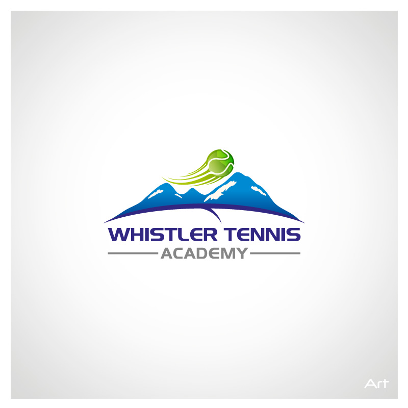 Logo Design by Puspita Wahyuni - Entry No. 70 in the Logo Design Contest Imaginative Logo Design for Whistler Tennis Academy.
