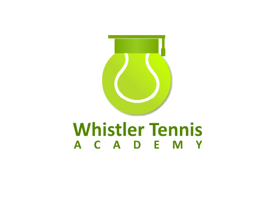 Logo Design by Ismail Adhi Wibowo - Entry No. 72 in the Logo Design Contest Imaginative Logo Design for Whistler Tennis Academy.
