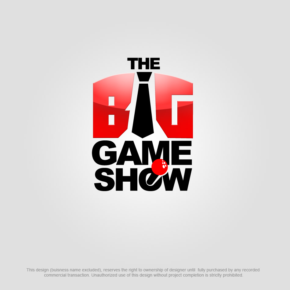 Logo Design by pinoybasket - Entry No. 14 in the Logo Design Contest The Big Game Show logo.