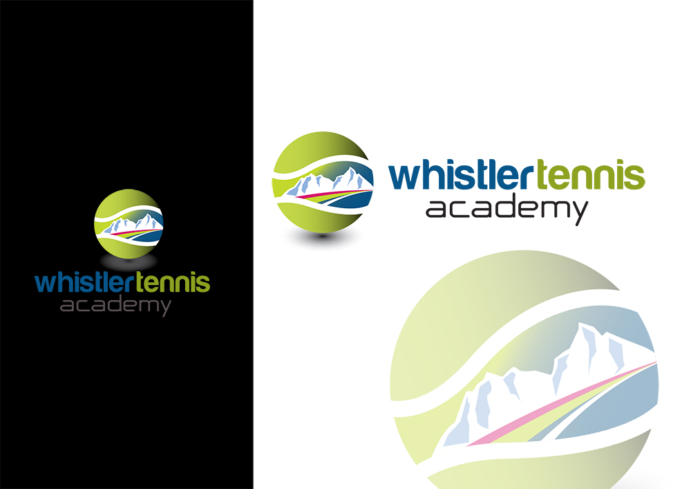Logo Design by demang - Entry No. 80 in the Logo Design Contest Imaginative Logo Design for Whistler Tennis Academy.