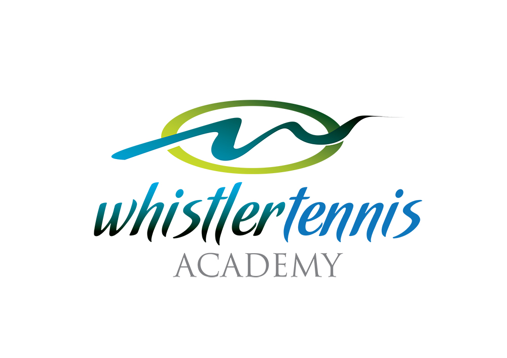 Logo Design by demang - Entry No. 81 in the Logo Design Contest Imaginative Logo Design for Whistler Tennis Academy.