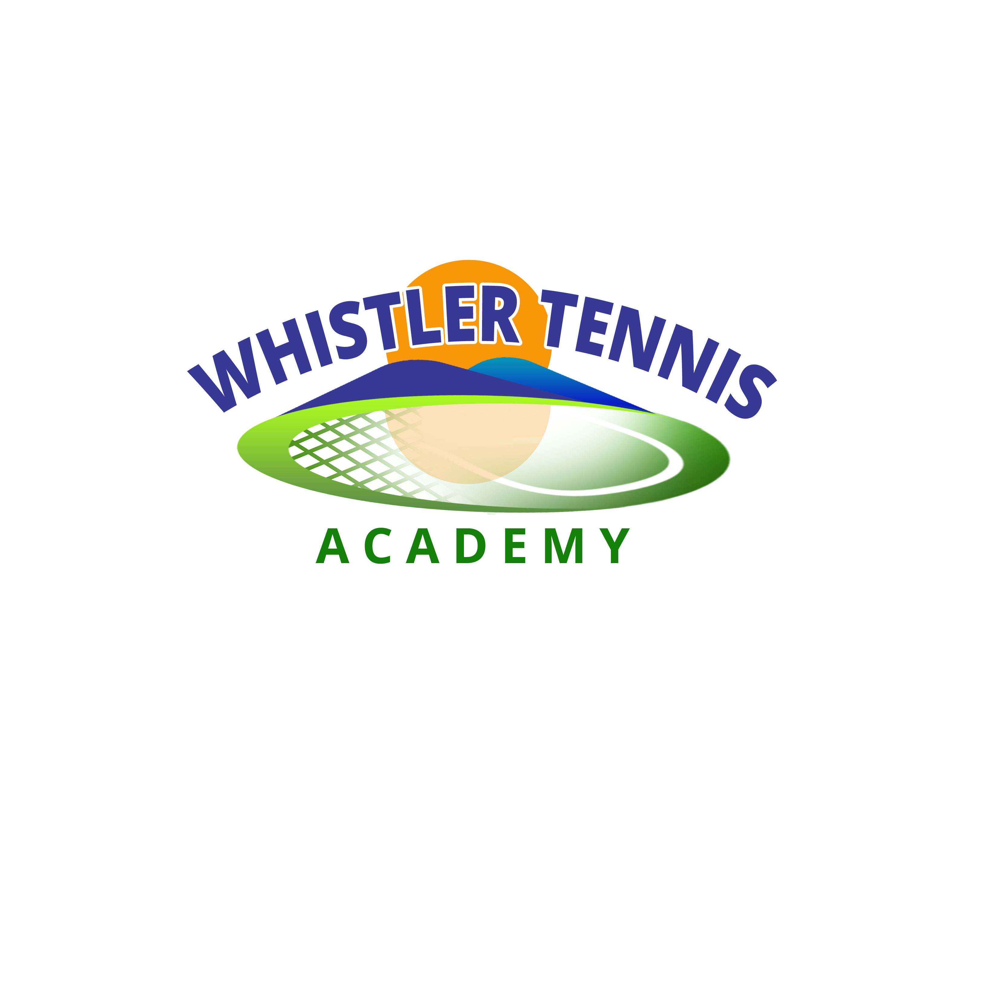 Logo Design by Allan Esclamado - Entry No. 83 in the Logo Design Contest Imaginative Logo Design for Whistler Tennis Academy.
