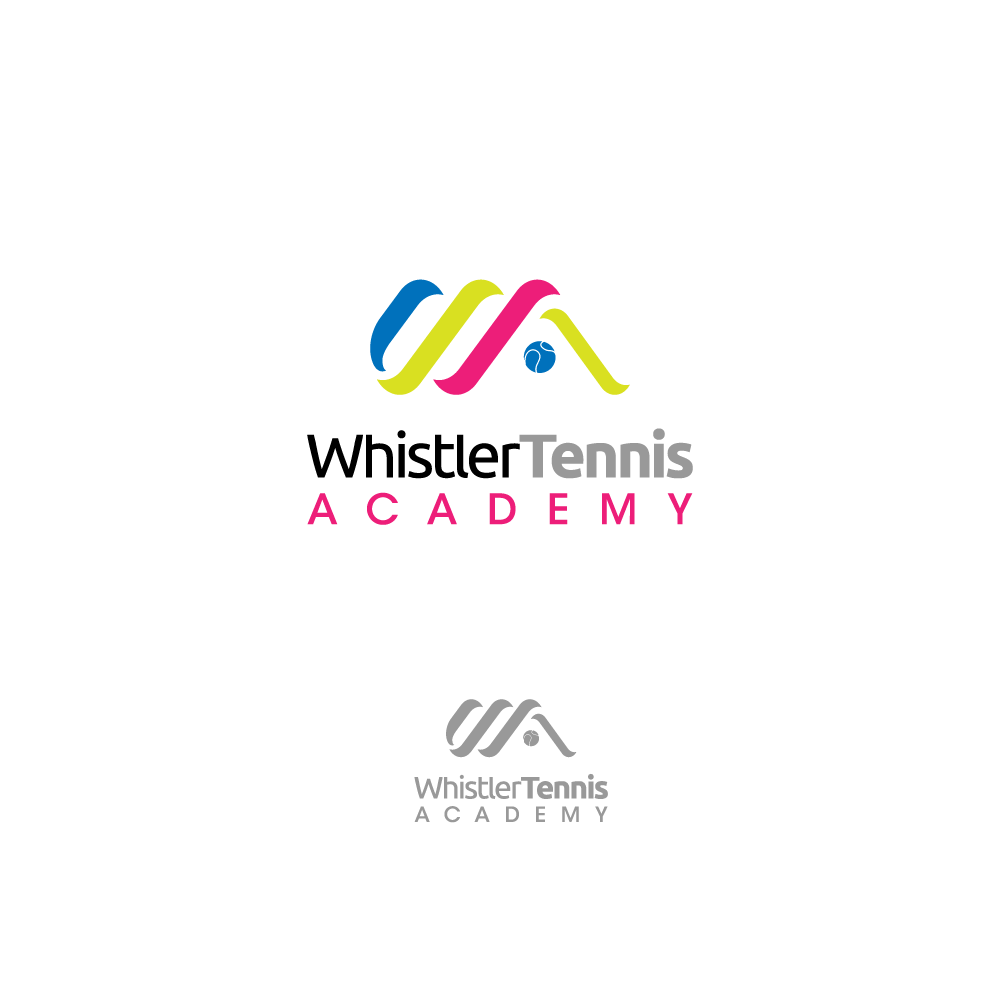 Logo Design by chinie05 - Entry No. 84 in the Logo Design Contest Imaginative Logo Design for Whistler Tennis Academy.
