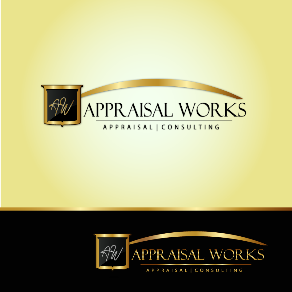 Logo Design by moonflower - Entry No. 22 in the Logo Design Contest Appraisal Works Logo Design.