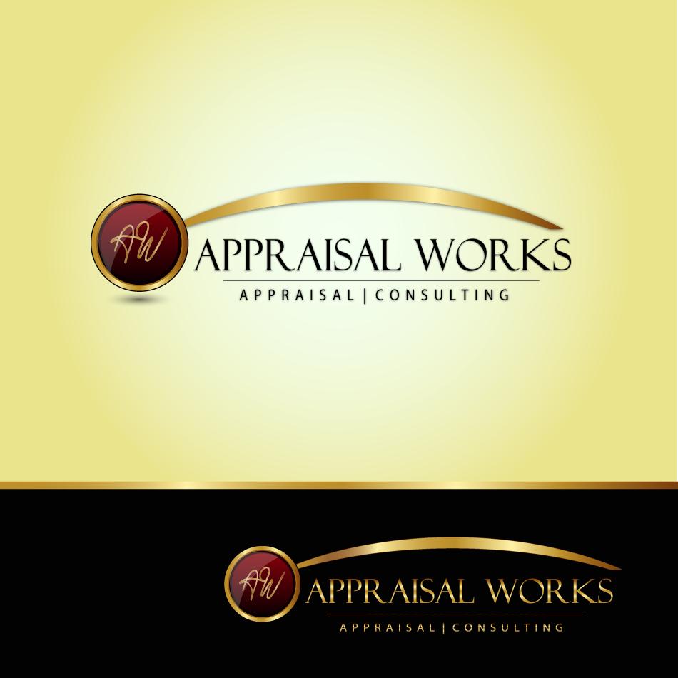 Logo Design by moonflower - Entry No. 23 in the Logo Design Contest Appraisal Works Logo Design.