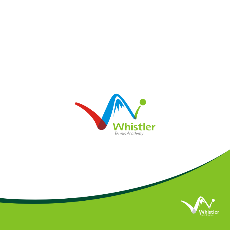 Logo Design by graphicleaf - Entry No. 85 in the Logo Design Contest Imaginative Logo Design for Whistler Tennis Academy.