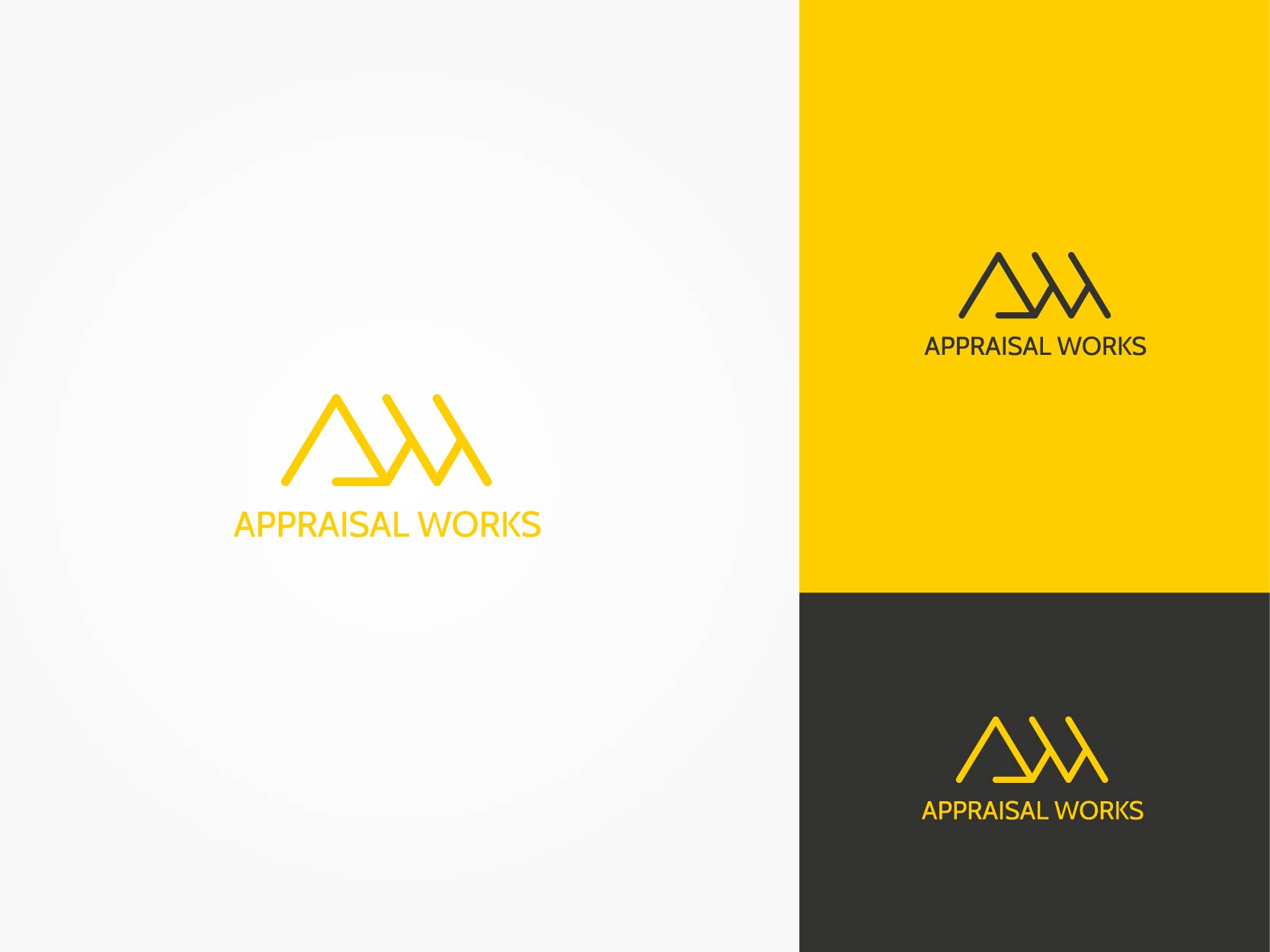 Logo Design by Osi Indra - Entry No. 25 in the Logo Design Contest Appraisal Works Logo Design.