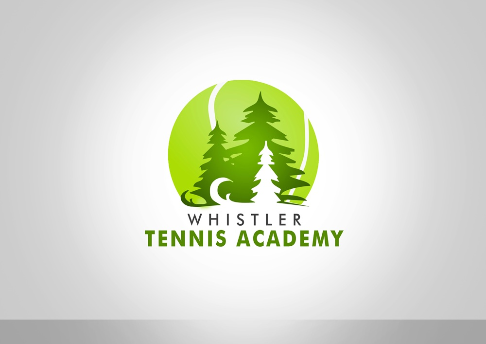Logo Design by Respati Himawan - Entry No. 86 in the Logo Design Contest Imaginative Logo Design for Whistler Tennis Academy.