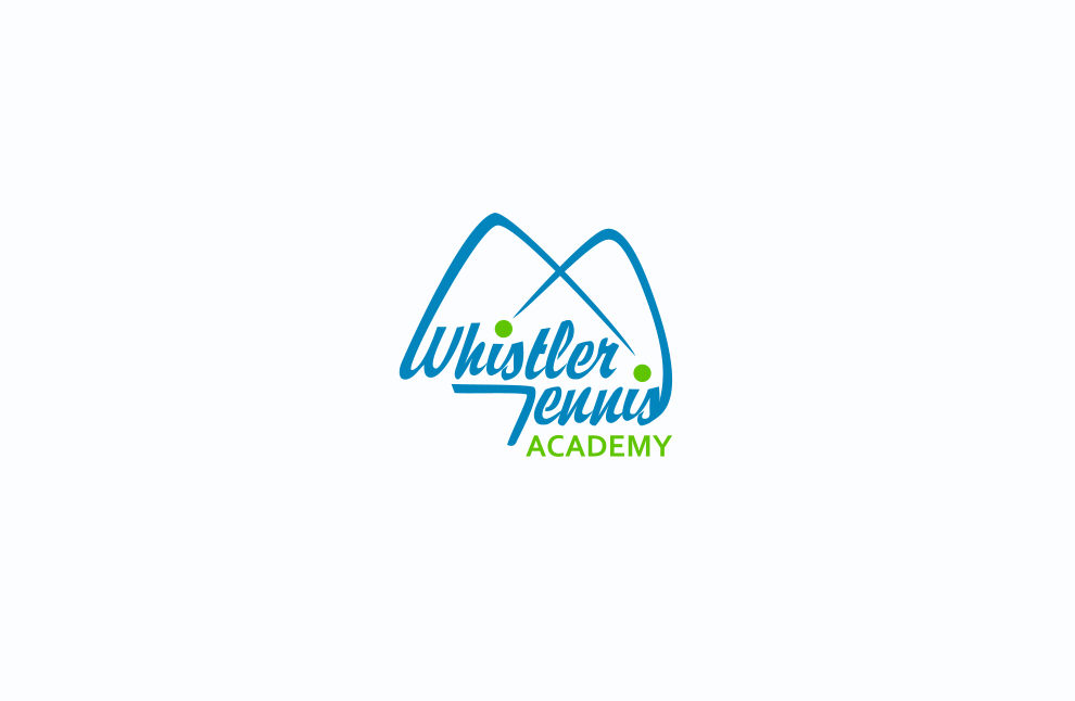 Logo Design by Jorge Sardon - Entry No. 87 in the Logo Design Contest Imaginative Logo Design for Whistler Tennis Academy.