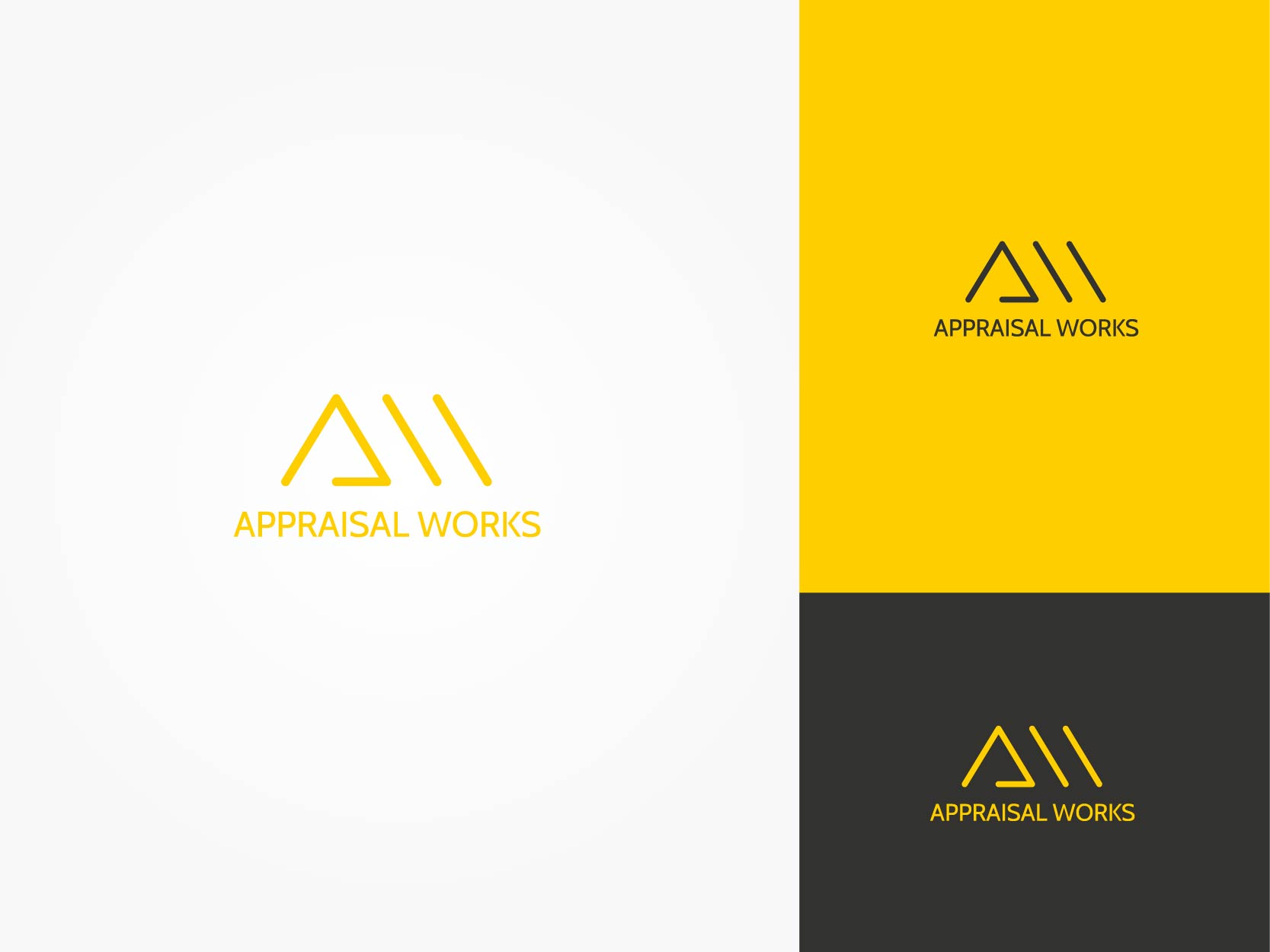 Logo Design by Osi Indra - Entry No. 26 in the Logo Design Contest Appraisal Works Logo Design.