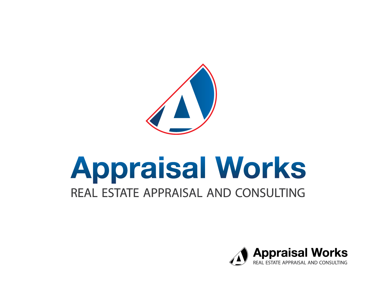 Logo Design by greypenguin - Entry No. 33 in the Logo Design Contest Appraisal Works Logo Design.