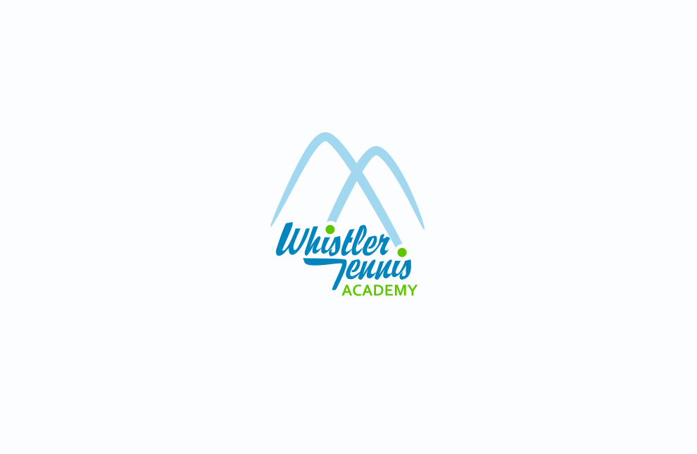 Logo Design by Jorge Sardon - Entry No. 91 in the Logo Design Contest Imaginative Logo Design for Whistler Tennis Academy.