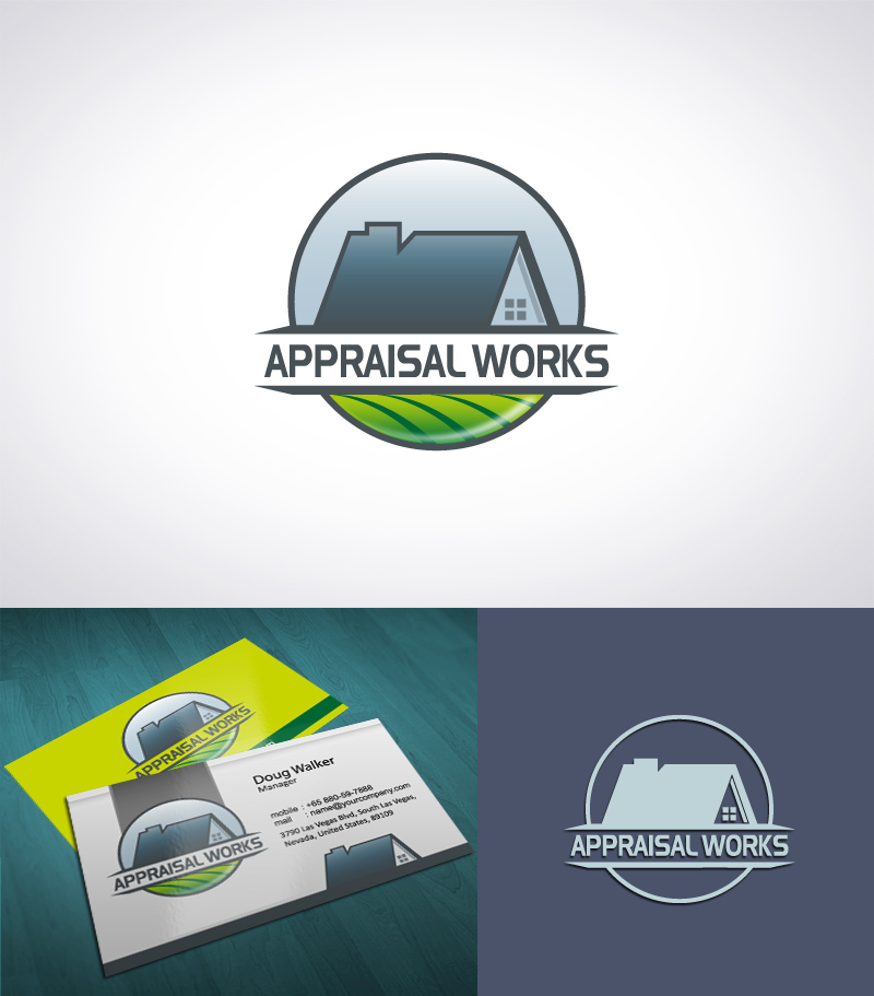 Logo Design by Puspita Wahyuni - Entry No. 37 in the Logo Design Contest Appraisal Works Logo Design.