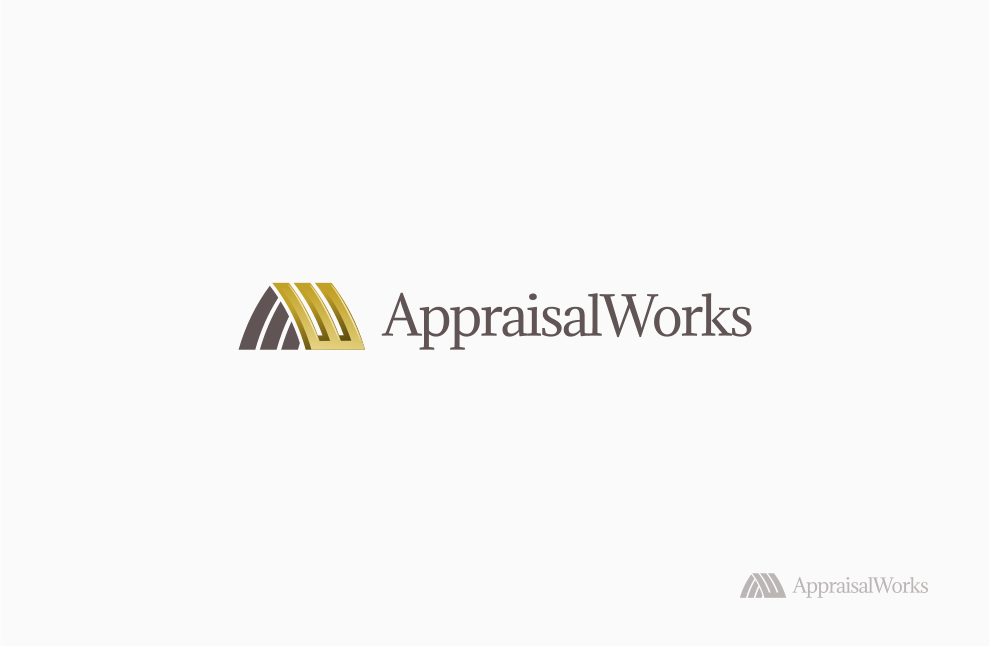 Logo Design by Jorge Sardon - Entry No. 38 in the Logo Design Contest Appraisal Works Logo Design.