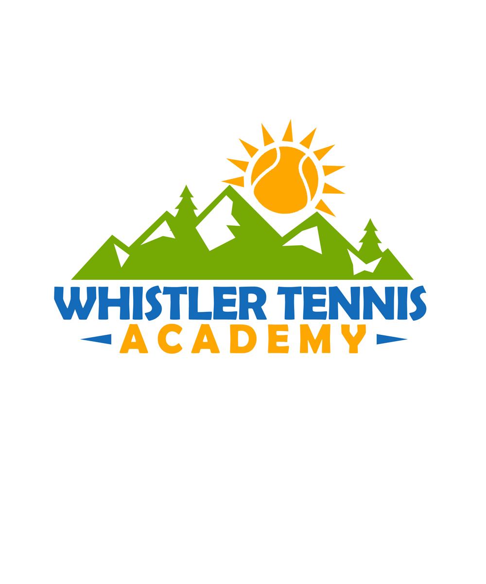 Logo Design by Private User - Entry No. 93 in the Logo Design Contest Imaginative Logo Design for Whistler Tennis Academy.