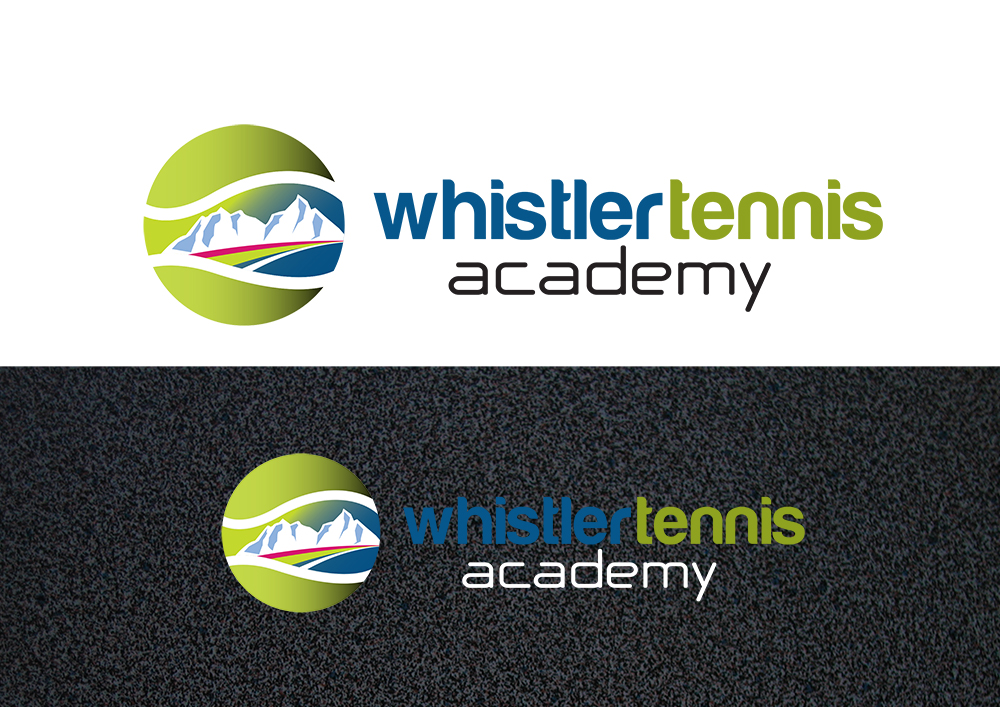 Logo Design by demang - Entry No. 94 in the Logo Design Contest Imaginative Logo Design for Whistler Tennis Academy.