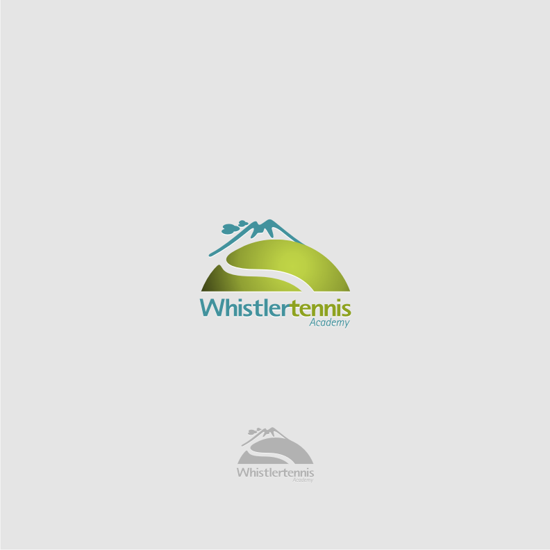 Logo Design by graphicleaf - Entry No. 96 in the Logo Design Contest Imaginative Logo Design for Whistler Tennis Academy.