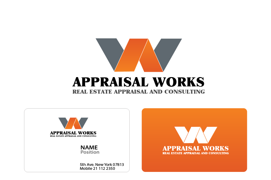 Logo Design by Private User - Entry No. 41 in the Logo Design Contest Appraisal Works Logo Design.