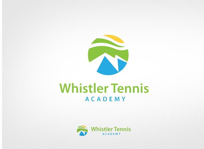 Logo Design by Jan Chua - Entry No. 98 in the Logo Design Contest Imaginative Logo Design for Whistler Tennis Academy.