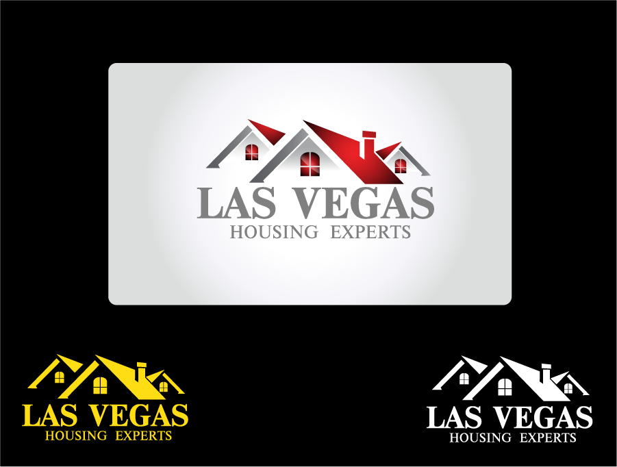 Logo Design by Private User - Entry No. 3 in the Logo Design Contest Las Vegas Housing Experts Logo Design.