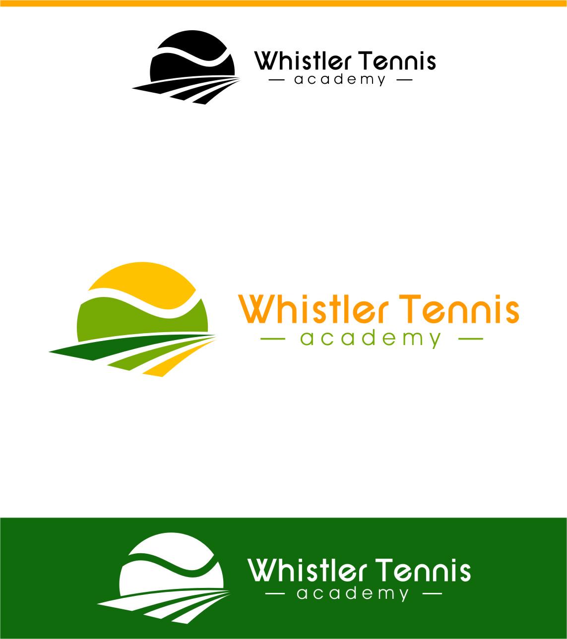 Logo Design by Ngepet_art - Entry No. 101 in the Logo Design Contest Imaginative Logo Design for Whistler Tennis Academy.