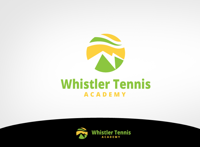 Logo Design by Jan Chua - Entry No. 104 in the Logo Design Contest Imaginative Logo Design for Whistler Tennis Academy.