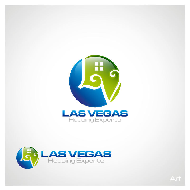 Logo Design by Puspita Wahyuni - Entry No. 5 in the Logo Design Contest Las Vegas Housing Experts Logo Design.