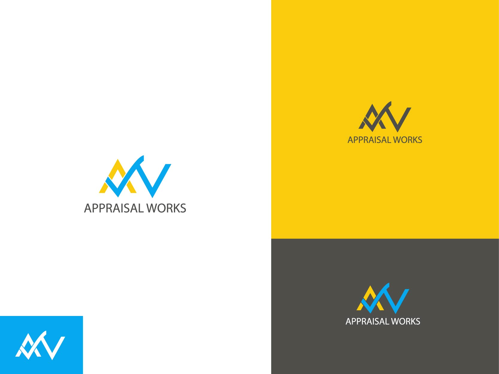 Logo Design by Osi Indra - Entry No. 46 in the Logo Design Contest Appraisal Works Logo Design.