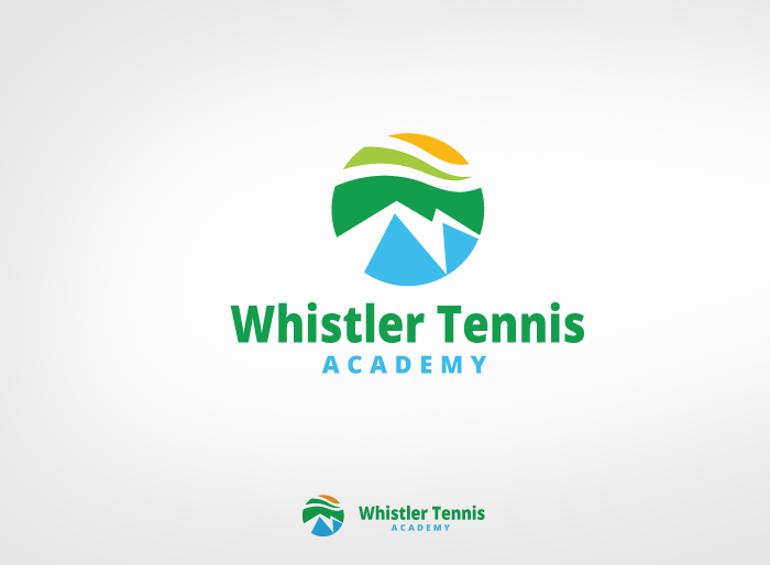Logo Design by Jan Chua - Entry No. 110 in the Logo Design Contest Imaginative Logo Design for Whistler Tennis Academy.