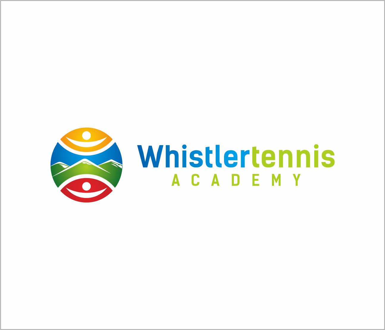 Logo Design by Armada Jamaluddin - Entry No. 112 in the Logo Design Contest Imaginative Logo Design for Whistler Tennis Academy.