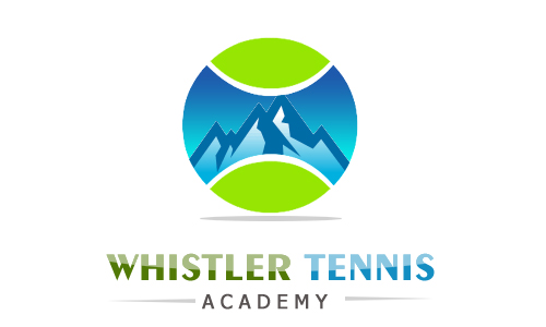 Logo Design by Crystal Desizns - Entry No. 119 in the Logo Design Contest Imaginative Logo Design for Whistler Tennis Academy.