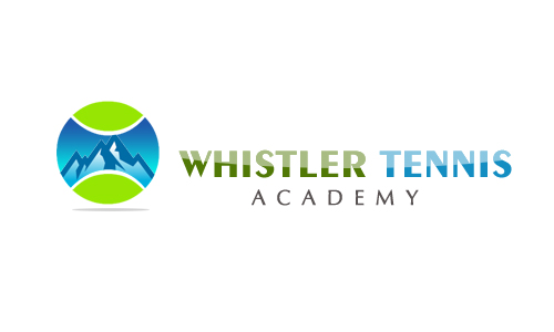 Logo Design by Crystal Desizns - Entry No. 120 in the Logo Design Contest Imaginative Logo Design for Whistler Tennis Academy.