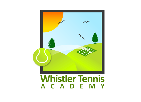 Logo Design by Ismail Adhi Wibowo - Entry No. 121 in the Logo Design Contest Imaginative Logo Design for Whistler Tennis Academy.