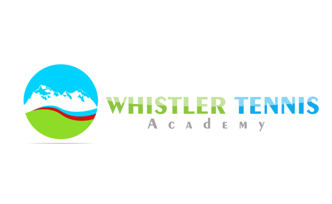 Logo Design by Crystal Desizns - Entry No. 122 in the Logo Design Contest Imaginative Logo Design for Whistler Tennis Academy.