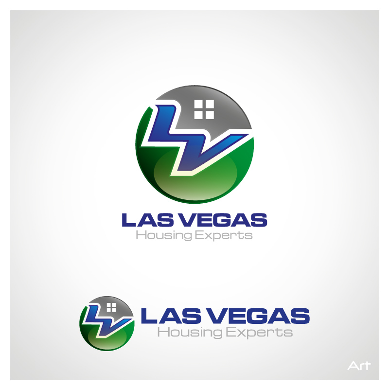Logo Design by Puspita Wahyuni - Entry No. 9 in the Logo Design Contest Las Vegas Housing Experts Logo Design.