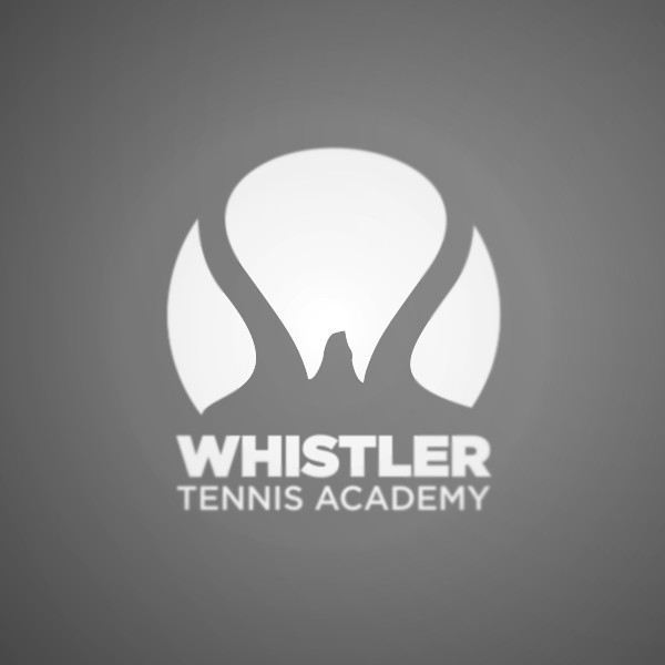Logo Design by Private User - Entry No. 123 in the Logo Design Contest Imaginative Logo Design for Whistler Tennis Academy.