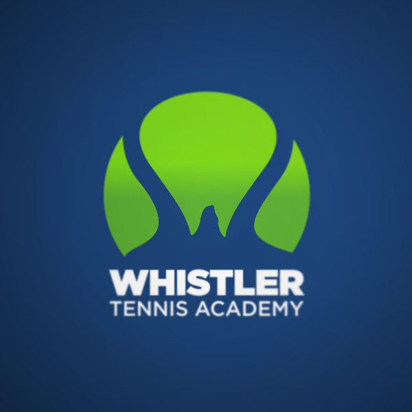Logo Design by Private User - Entry No. 124 in the Logo Design Contest Imaginative Logo Design for Whistler Tennis Academy.