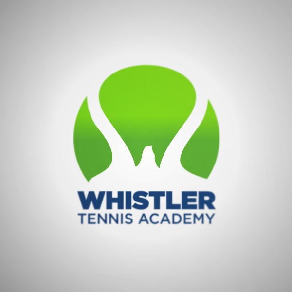 Logo Design by Private User - Entry No. 125 in the Logo Design Contest Imaginative Logo Design for Whistler Tennis Academy.
