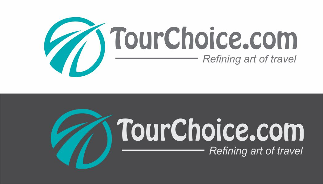 Logo Design by Vallabh Vinerkar - Entry No. 8 in the Logo Design Contest www.TourChoice.com Logo Design.