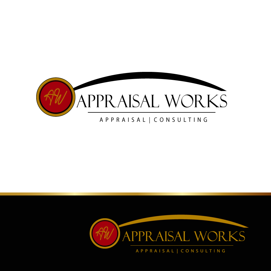 Logo Design by moonflower - Entry No. 63 in the Logo Design Contest Appraisal Works Logo Design.