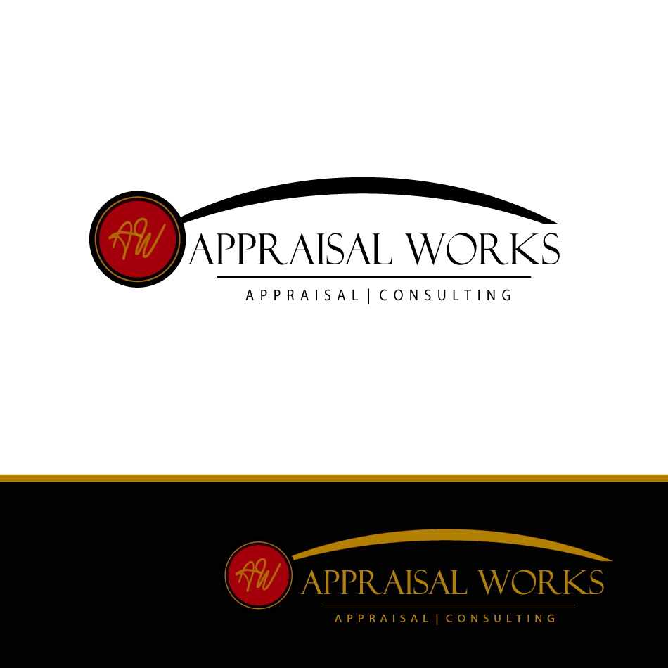 Logo Design by moonflower - Entry No. 64 in the Logo Design Contest Appraisal Works Logo Design.