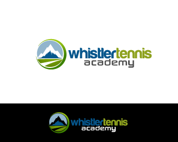 Logo Design by Private User - Entry No. 131 in the Logo Design Contest Imaginative Logo Design for Whistler Tennis Academy.