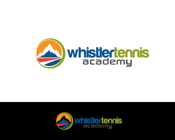 Logo Design by Private User - Entry No. 132 in the Logo Design Contest Imaginative Logo Design for Whistler Tennis Academy.