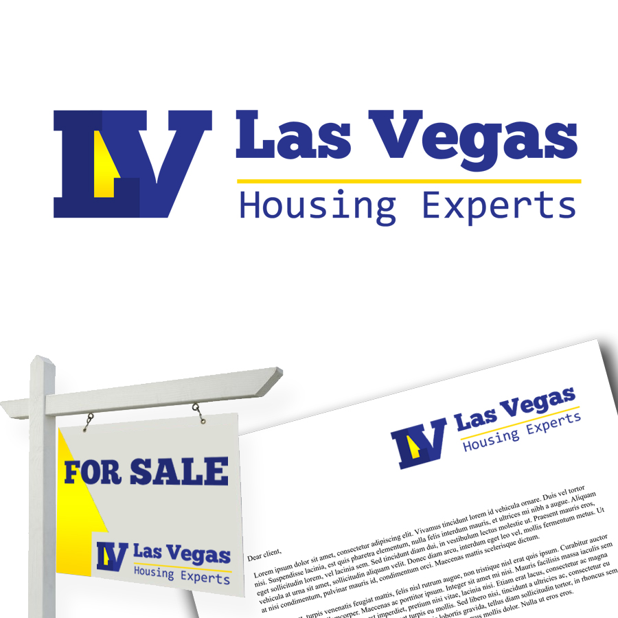 Logo Design by KoenU - Entry No. 14 in the Logo Design Contest Las Vegas Housing Experts Logo Design.
